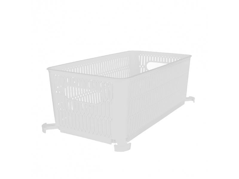 Košík ORION Nesta bílý 28,5x23cm