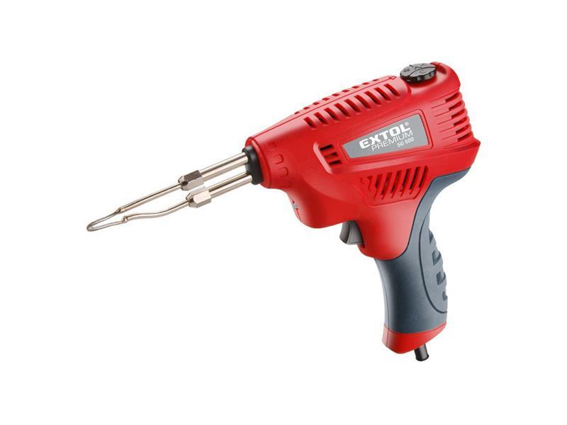 EXTOL PREMIUM 8894510 Pistole pájecí s regulací teploty, transformátorová, 200W
