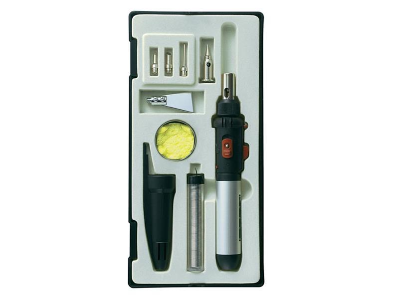 Toolcraft Sada plynové páječky PT-509, 1300 °C