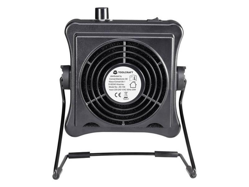 Odsávač kouře/ventilátor TOOLCRAFT ZD-159