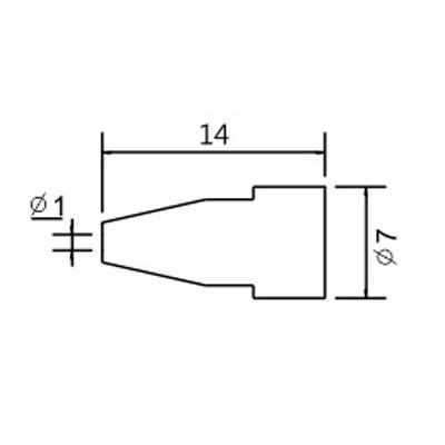 Hrot N5-6/ZD553 pr.1.0mm (ZD-8915)