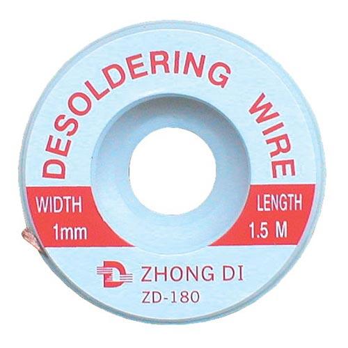 Punčoška k odsávání cínu 1mm/1,5m