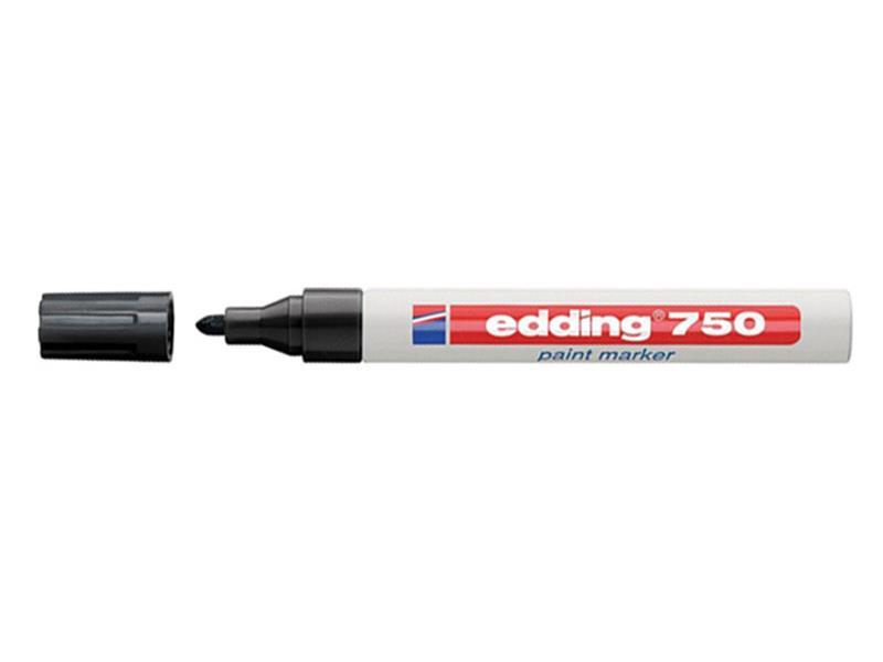 Fix popisovač lakový Edding 750 černý