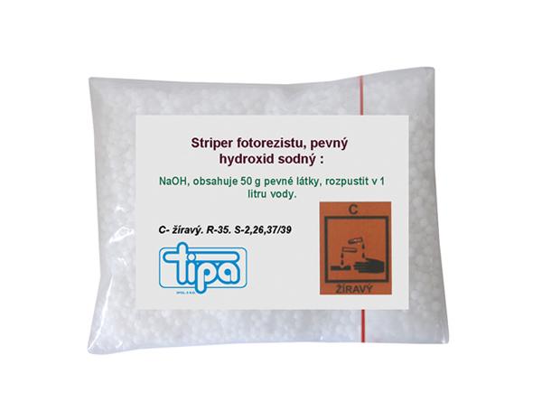 Chemie striper fotorezitu Photec 2050 (pevný hydroxid sodný)