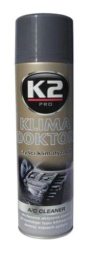 K2 KLIMA DOKTOR 500ml – pěnový čistič klimatizace
