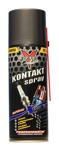 CLEANFOX Kontakt spray s trubičkou