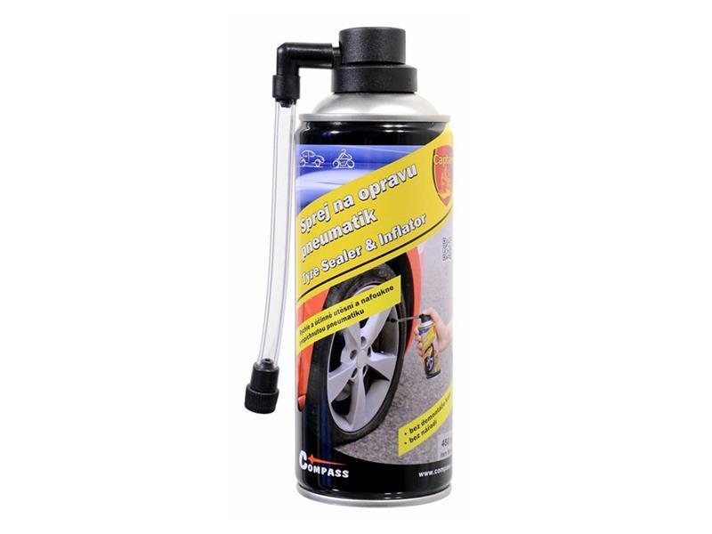 Sprej na lepení pneu 450ml COMPASS CAPTAIN