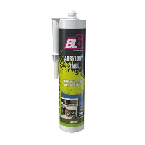 Tmel akrylátový BL6 hobby bílý - kartuše 310ml