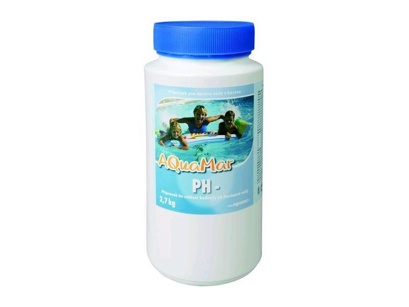 Chemie bazénová MARIMEX AQUAMAR PH- 2.7kg
