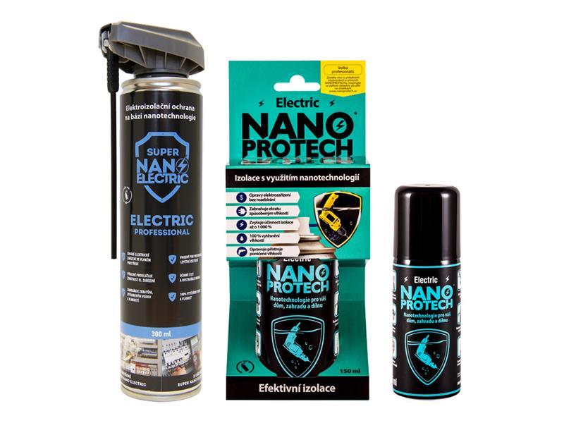 Sprej antikorozní NANOPROTECH ELECTRIC 75 ml