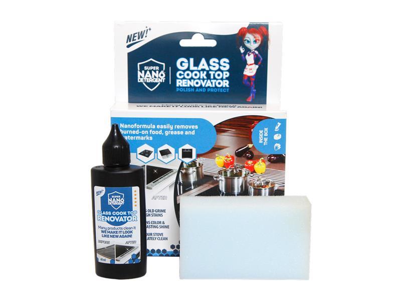 Čistič skel a sklokeramických desek NANOPROTECH GNP GLASS COOKTOP RENOVATOR 40 ml