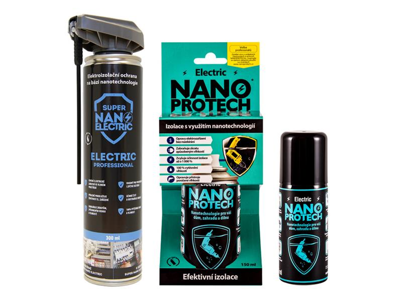 Sprej antikorozní NANOPROTECH ELECTRIC PROFESSIONAL 300 ml