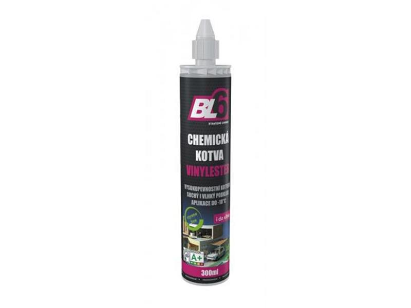 Kotva chemická vinylester BL6 - kartuše 300ml /POUZE 1 TRYSKA