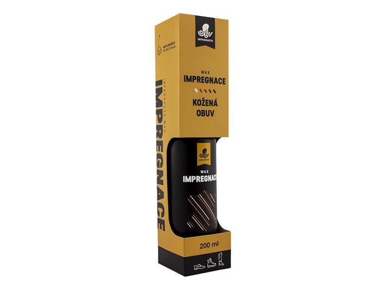 Impregnace na koženou obuv INPRODUCTS WAX 200 ml