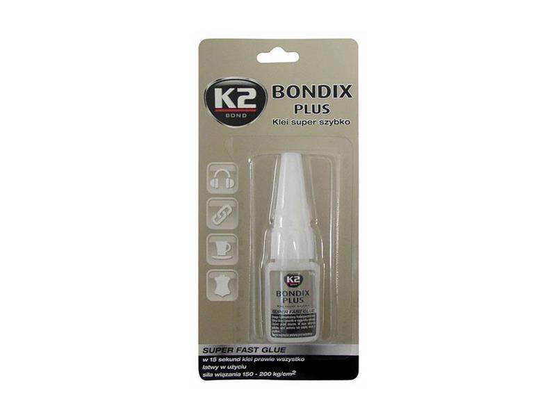 Lepidlo vteřinové K2 BONDIX PLUS 10g