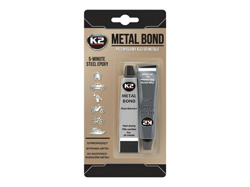 Lepidlo na kovy dvousložkové K2 METAL BOND 56,7g