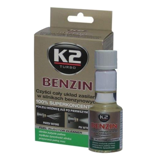 Aditivum do benzinu K2 BENZIN 50ml