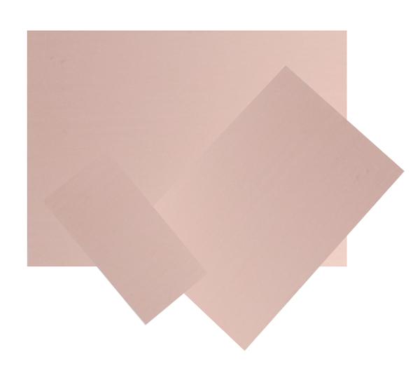 Cuprextit 100x50x1,5 jednovrstvý