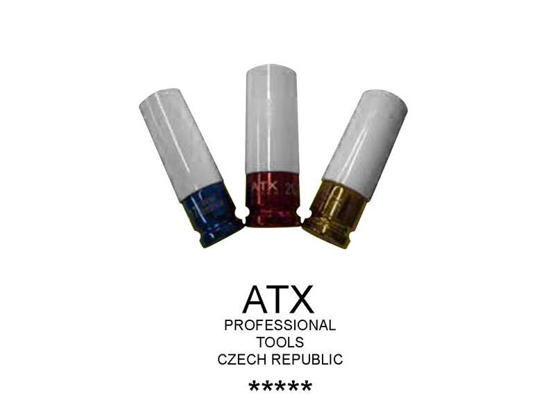 Klíče nástrčné rázové tenkostěnné - ATX profi