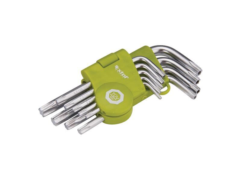 Sada L-klíčů EXTOL CRAFT TORX 66010