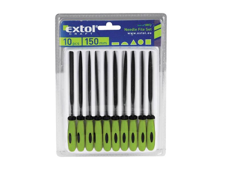 Sada pilníků EXTOL CRAFT 8801 10ks