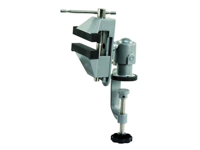 Svěrák kovový s kulovým kloubem a svorkou (TV-750)