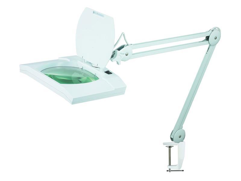 TIPA stolní lupa typ obdélník 5diop. 108 LED