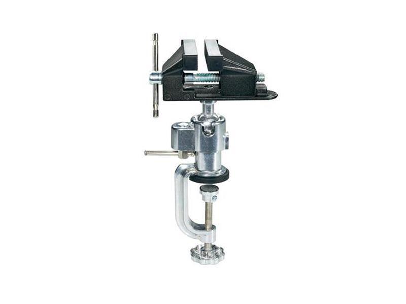 Svěrák kovový s kulovým kloubem BASETECH 815880