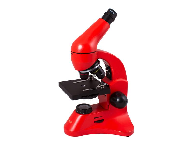 Mikroskop LEVENHUK RAINBOW 50L PLUS oranžová
