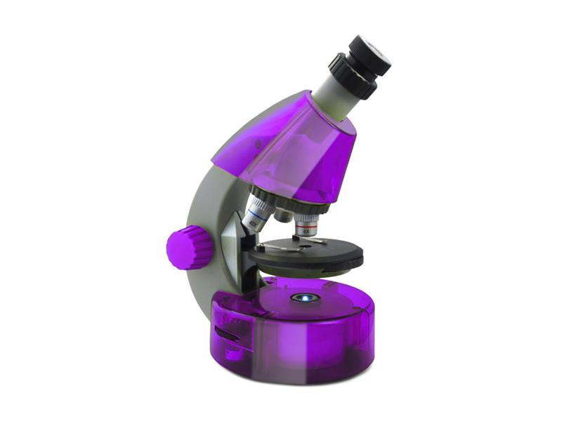 Mikroskop LEVENHUK LabZZ M101 fialová