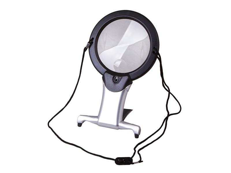 Lupa stolní LEVENHUK ZENO VIZOR N2 + LED osvětlení