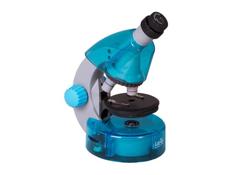 Mikroskop LEVENHUK LabZZ M101 modrá