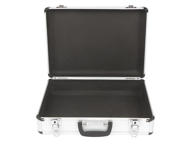 Univerzální hliníkový kufr TOOLCRAFT 1409402, rozměry: (š x v x h) 428 x 123 x 310 mm
