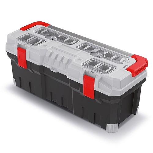 Kufr na nářadí TITAN PLUS šedý 752x300x304mm