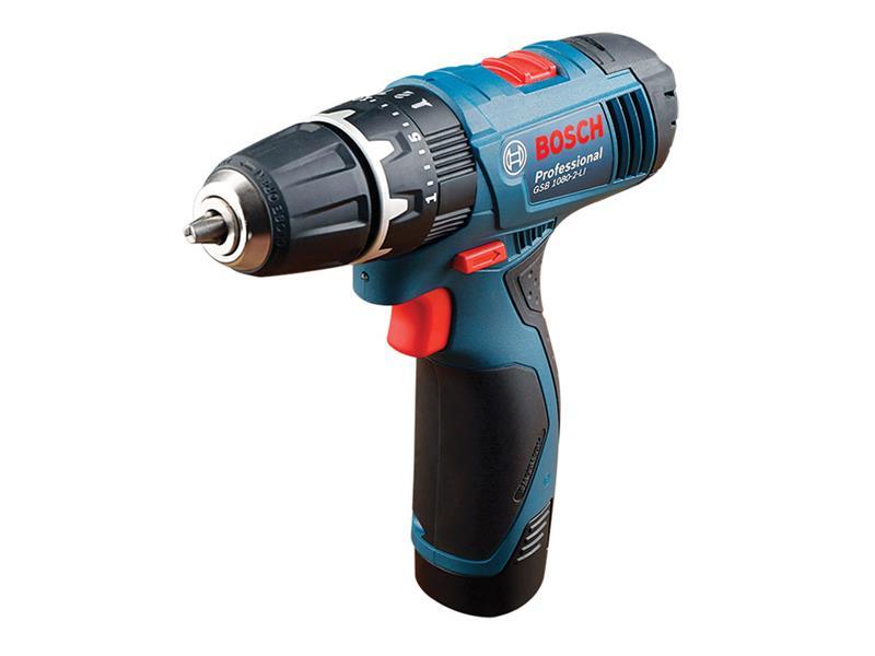 Šroubovák vrtací AKU Bosch GSB 1080-2-LI Professional, 06019F3000