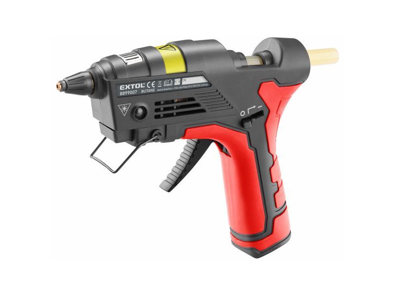Pistole lepící EXTOL PREMIUM 8899007 na plyn do zapalovačů