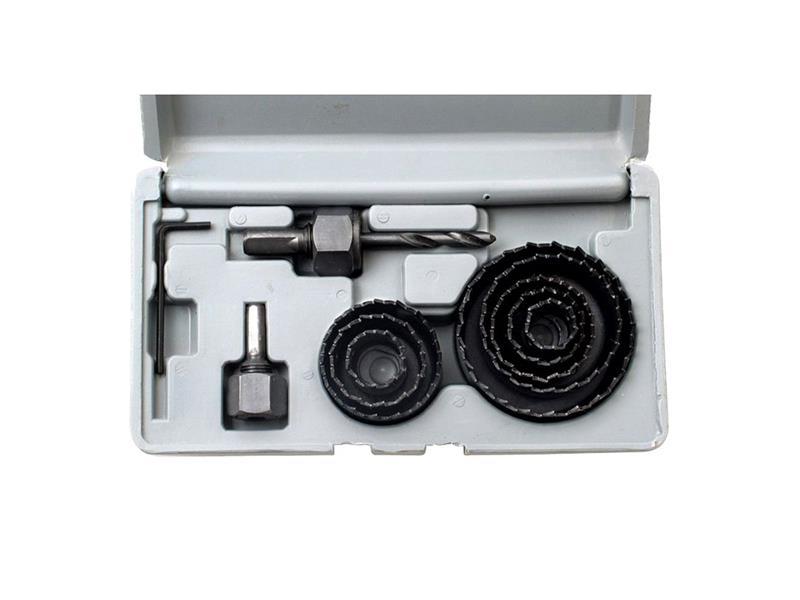 Výkružník do dřeva, sádrokartonu korunkový, 19-64mm, hloubka do 25mm, Extol Craft