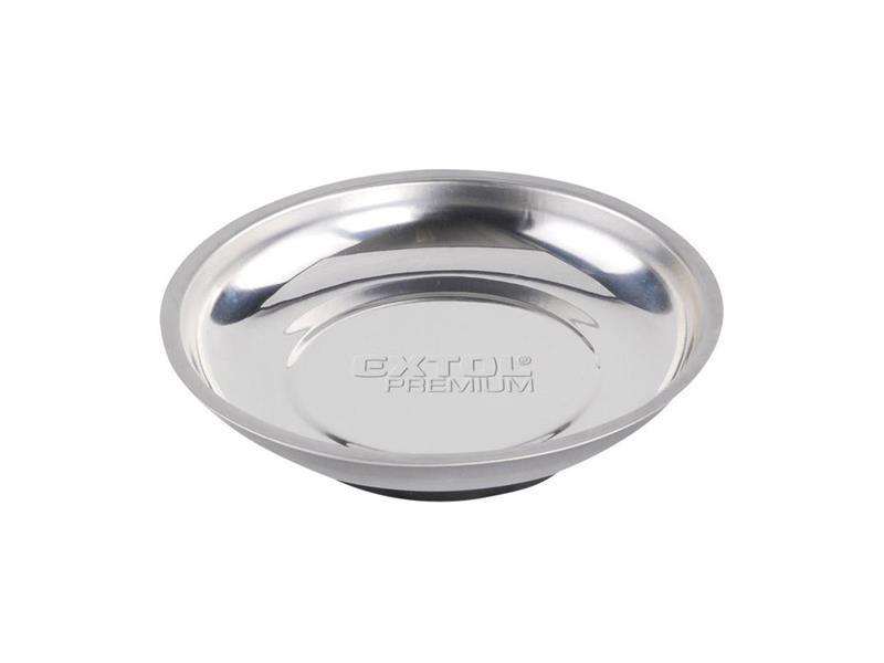 Extol Premium Miska magnetická nerez, 150mm, hloubka misky 25mm, magnet o pr. 80mm