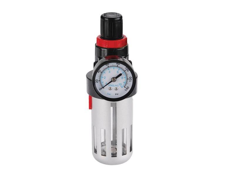 Extol Premium Regulátor tlaku s filtrem a manometrem a přim. oleje - 8bar