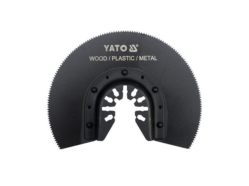Pilový list pro multifunkční nářadí HSS, 88mm (dřevo, plast, kov)