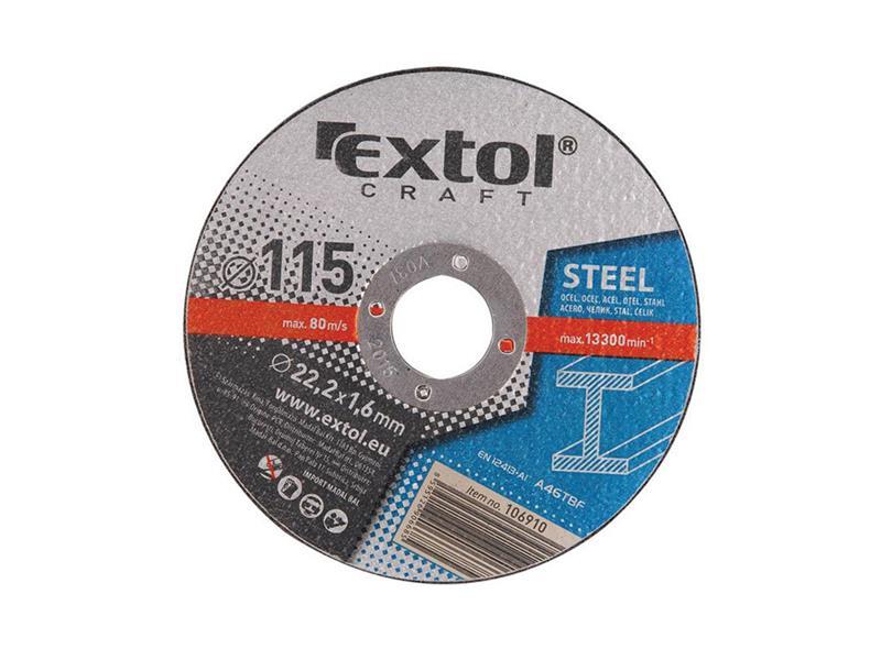 Extol Craft kotouče řezné na kov 5ks 150x1,6x22,2mm 106930