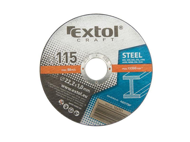EXTOL kotouče řezné na kov, 5ks,230x1,9x22,2mm, EXTOL CRAFT(106950)