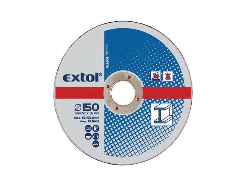 Extol Craft kotouče řezné na kov 5ks 230x2,5x22,2mm 108050
