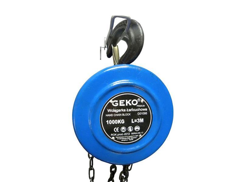 Kladkostroj řetězový GEKO G01095