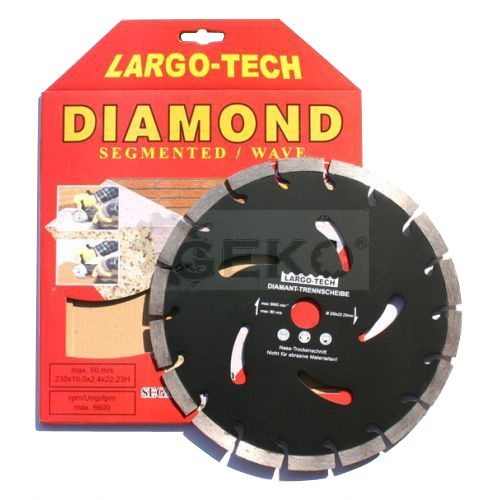 Kotouč diamantový řezný 230mm GEKO G00284