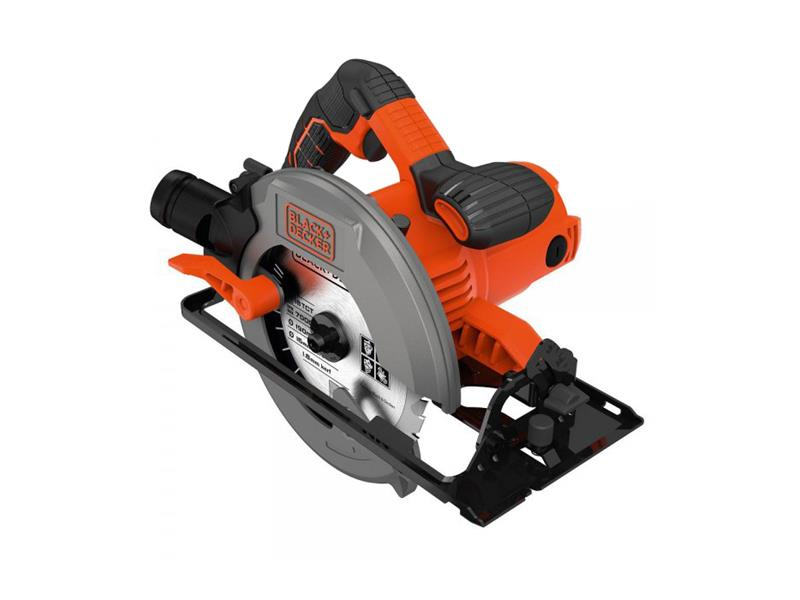 Pila okružní BLACK+DECKER CS1250LK