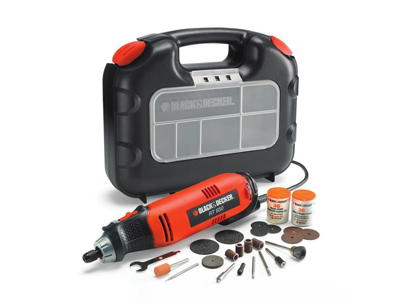 Bruska přímá BLACK+DECKER RT650KA