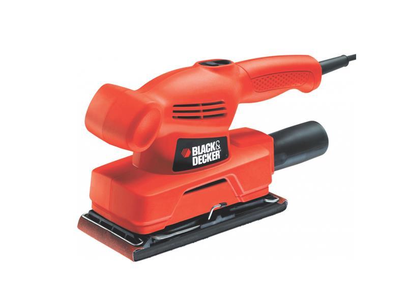 Bruska vibrační BLACK & DECKER 135W, zákl. 90x187mm KA300-XK