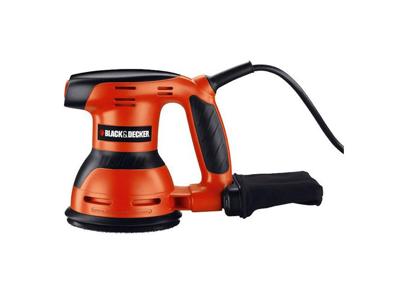 Bruska excentrická BLACK & DECKER 260W 125mm KA198-QS