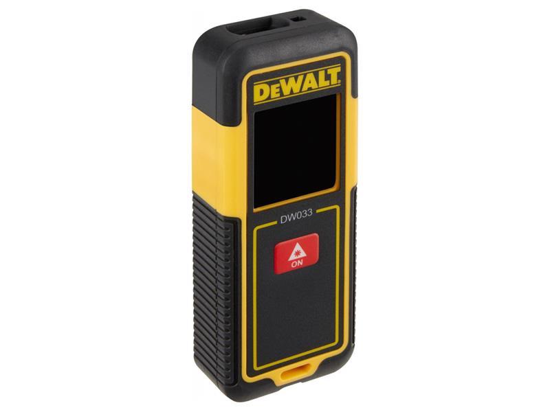 Měřič vzdálenosti DEWALT DW033 laserový